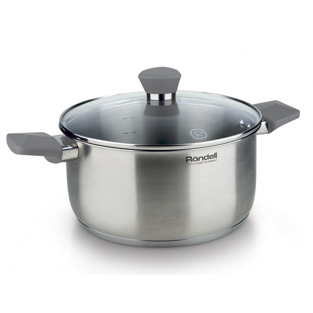 Saucepan with lid RONDELL RDS-715 pot with lid rondell rds 831
