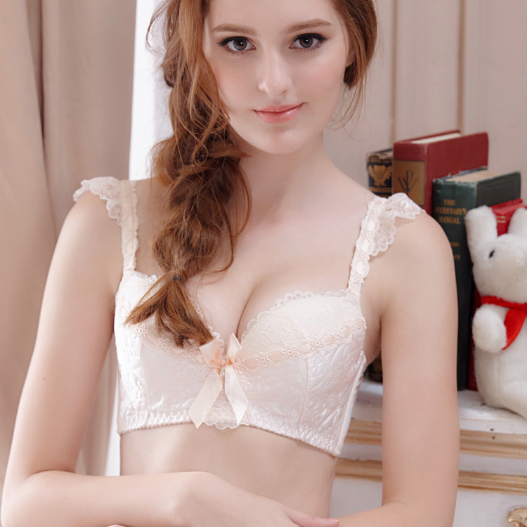 61a1fb57ad847 2016 QZY series lingerie sets flowers embellishment training bra push up Bra  and Panty teenage underwear Set for puberty girls-in Bras from Mother    Kids on ...
