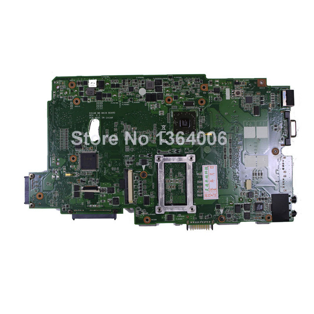 Para asus k70ae k51ae k51ab rev 2.3 ou rev 2.1ddr2 sistema pc profissional motherboard testado & funciona perfeito frete grátis