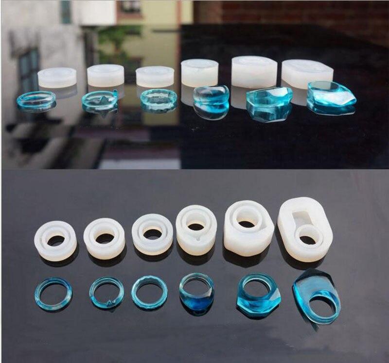 1 Stück Transparent Diy Silizium Runde Cat Form Ring Form Schmuck Machen Werkzeuge Epoxidharz Formen Für Schmuck Grade Produkte Nach QualitäT
