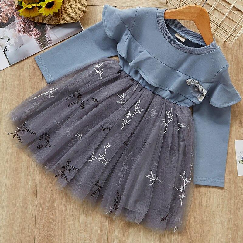 HTB1AJw2agFY.1VjSZFqq6ydbXXaq Melario Girls Dresses Fashion Kids Girl Dress Printing Long Sleeve Princess Dress Casual Kids Dresses Floral Children's Clothing