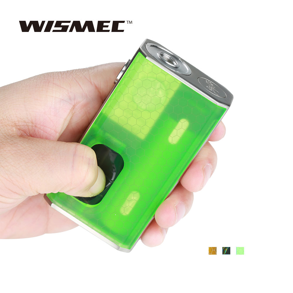 Original WISMEC LUXOTIC BF Box Mod 100W Output 7.5ml Refillable Bottle For Tobhino BF RDA Tank No 18650 Battery Vape E Cig Mod