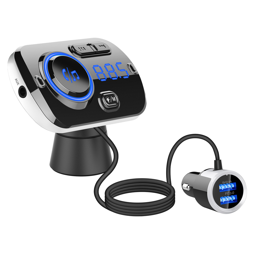 1PC Wireless Bluetooth FM Transmitter Radio Adapter Car Auto Kit SD Slot Remote