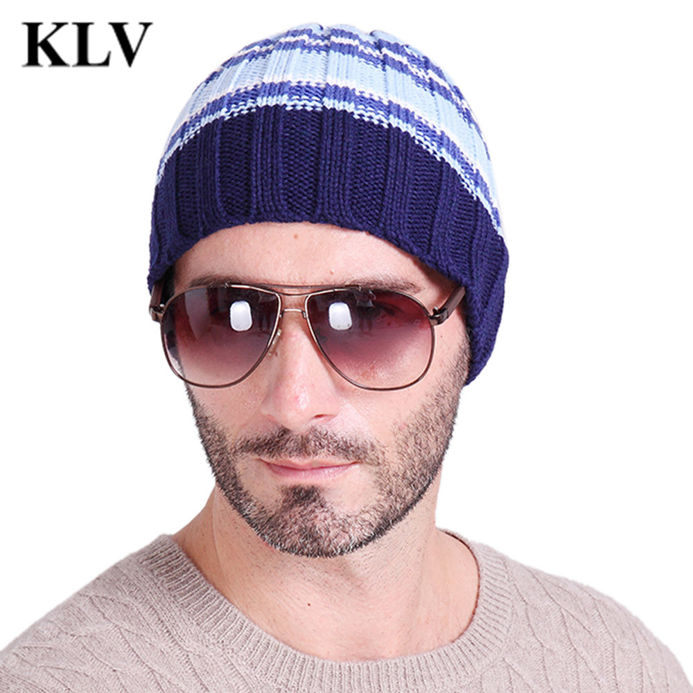New Multicolor Striped Bonnet Beanies Knitted Winter Skullies Hat For Women Men Beanie Warm Baggy Cap Wool Gorros Touca Oct13 brand skullies winter hats for men bonnet beanies knitted winter hat caps beanie warm baggy cap gorros touca hat 2016 kc010