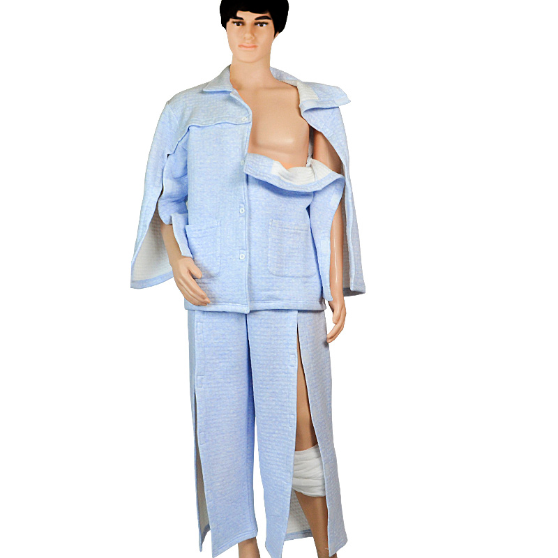 Patient Patient Care Clothes,Pants ,Clothing For Surgery Patients/Fracture/Bedridden Patients/Elderly,Easy To Wear And Take Off
