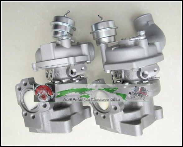 Freies Schiff Twin Turbo Für AUDI RS4 Quattro ASJ AZR V6 2.7L K04-025 K04-026 25 + 26 53049880025 53049880026 53049700025 53049700026