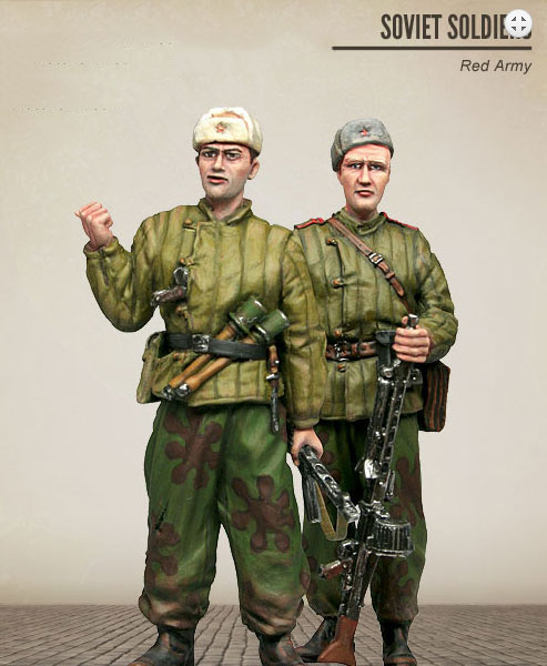 Assembly Unpainted Scale 1/35 Soviet Red Army -officer winter standing figure Historical WWII Resin Model Miniature Kit