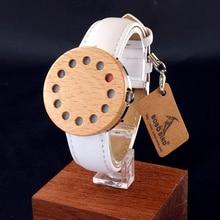 BOBOBIRD Marca C15 de Diseño Creativo de Moda De Bambú y Aceros Serie Relojes Coloridos Relojes Ocasionales para Las Mujeres En Caja de Regalo Relogio