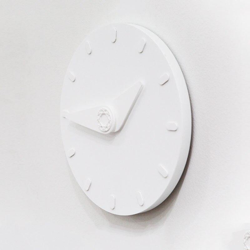 Стена в современном минималистическом стиле часы кварцевые белые часы настенные скандинавские гостиная спальня Horloge плакат, Декор для дома