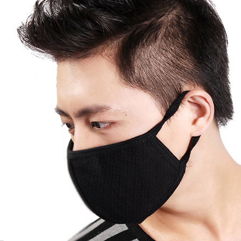 2pcs Unisex Mens Womens Cycling Wearing Anti Dust Cotton Mouth Face Mask Respirator for Winter