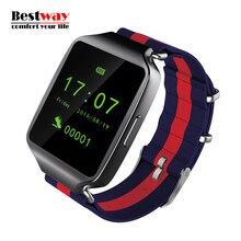 2016 New L1 Smart Uhr Schrittzähler Reloj Inteligente Bluetooth SYNC Für Android Phone anti-verlorene Smartwatch HD Smart Touch uhr