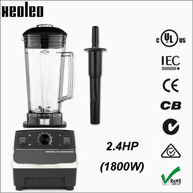 XEOLEO Commercial Blender 2.4HP Food blender 2L Blender machine 110V/220V Food mixer Fruit&Vegetable mixer EU/AU/UK/US Plug 2l 1200w 220 240v au eu plug commercial blender fruit smoothie mixer juicer machine food processor stainless steel cutting