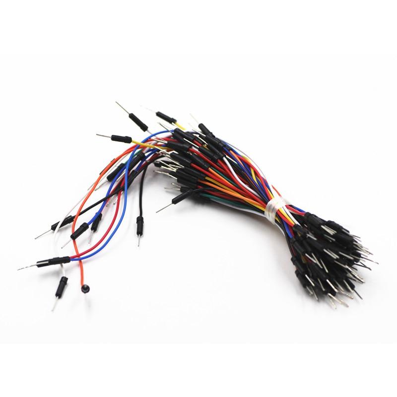 65 teile/los Jump Draht Kabel Stecker stecker Flexible ...