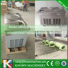 free shipping pan size 48*48 cm fry ice cream rolling machine for sale