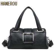 2019 Women PU Leather Shoulder Bags Summer Ladies Handbags Famous Brands Woman New Casual Tote Bag Fashion Bolsos Mujer Grande(China)
