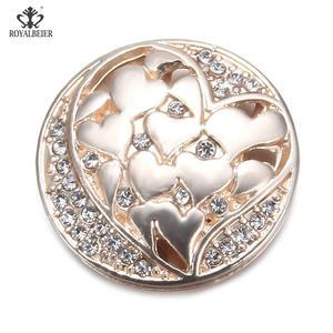 Image 3 - Star Carved Rhinestone Inlaid Powerful Magnet Buckle Retro Muslim Magnet Pin Ladies Dress Brooch DIY Magnetic Needle