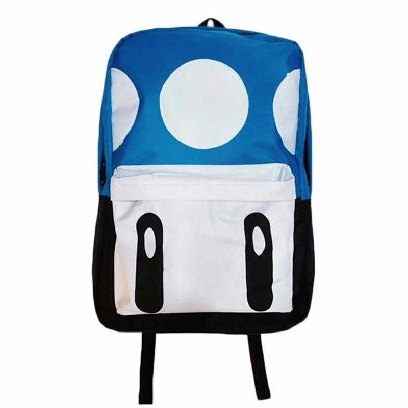 Cute Mochila Super Mario Backpack Children Teenagers Cartoon Girl Plush Bags Kids School Bags Super Mario Bros Printing Backpack (4)