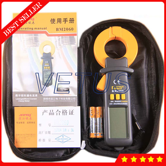 BM2060 Digital Clamp Meter for leakage current tester victor 6056d digital clamp meter