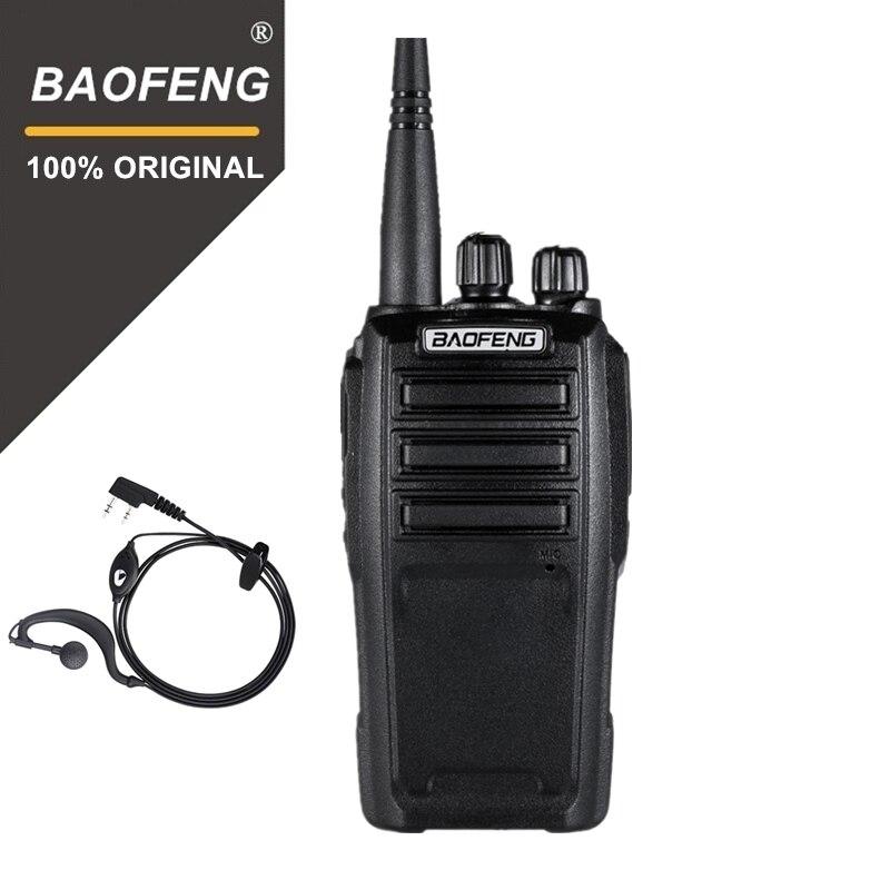 Baofeng UV-6 Talkie Walkie Longue Portée Radio bidirectionnelle 136-174/400-480 mhz VHF/UHF Double Bande émetteur-Récepteur Radio de poche Interphone