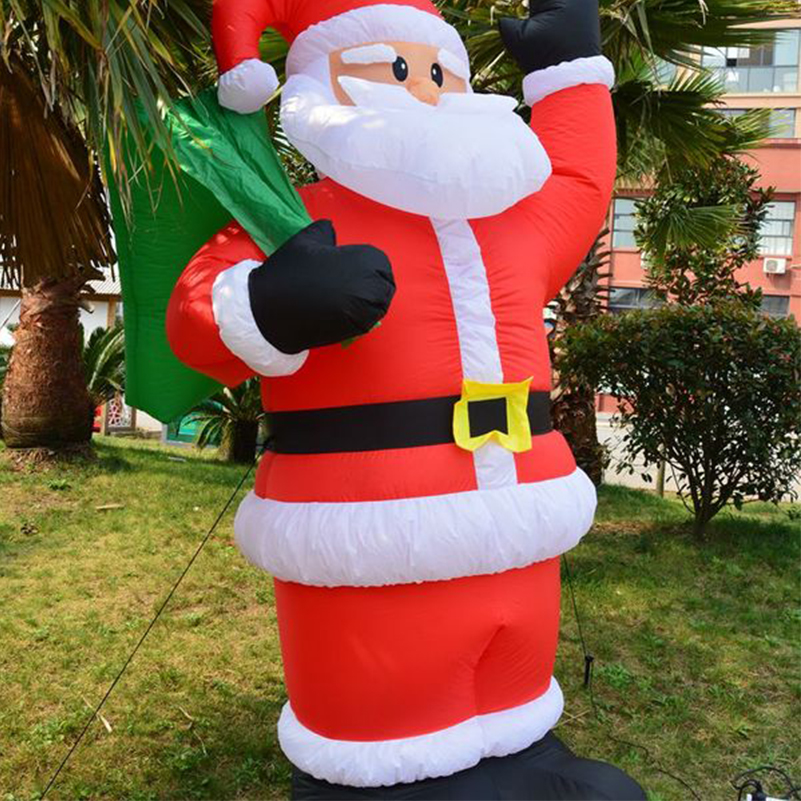 Aliexpress.com : Buy 1.2m Inflatable Chirstmas Santa Claus Decoration  Supplies Lowes Christmas Inflatables,inflatable Santa Claus Decorations  From Reliable ...