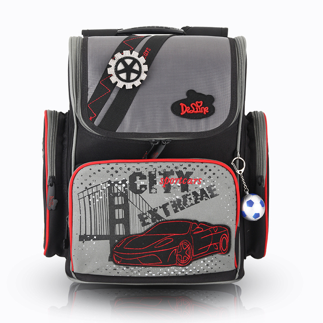 Россия ГОРЯЧИЕ детей мешок школы бесплатно кукла малыш студенты творческий светоотражающие водонепроницаемый автомобили ребенок рюкзак мальчик мультфильм мешок
