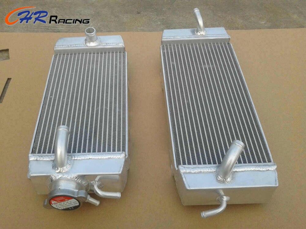 Aluminum radiator KAWASAKI KXF250 KX250F 2009 2010 2011 09 10 11