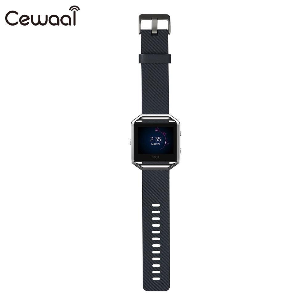 Ремешок для часов маленький ремешок для часов TPE замена Смарт-часы поставки Fitbit Blaze - Цвет: gray