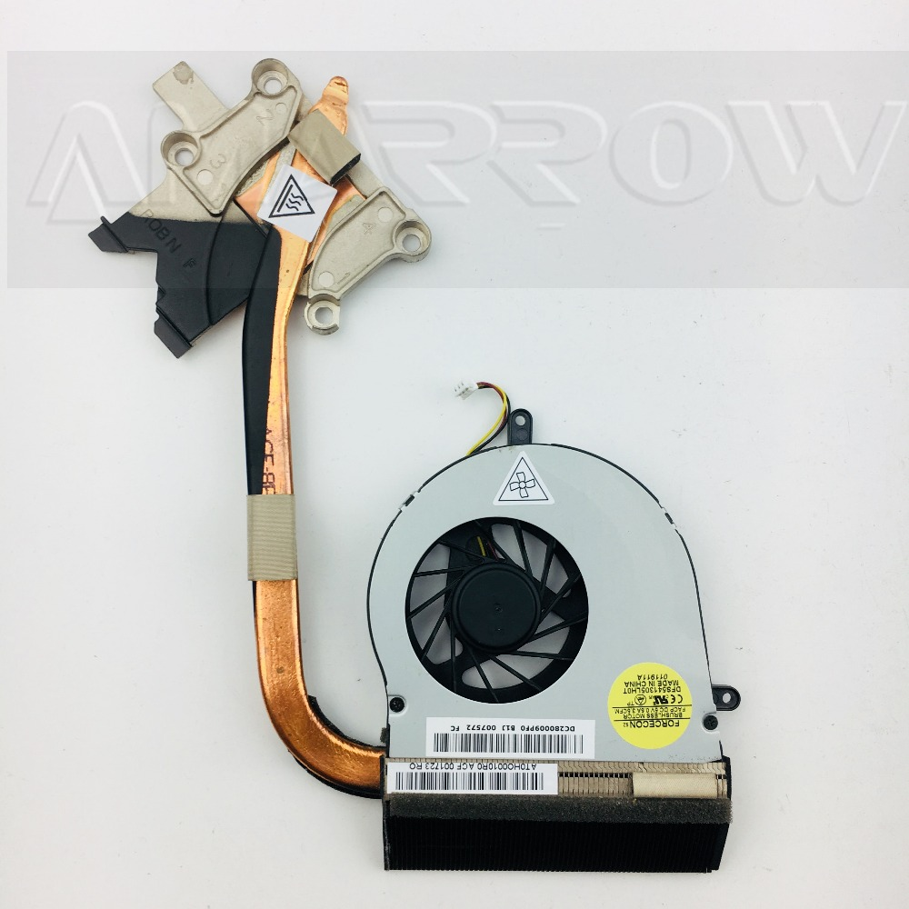 Original For <font><b>ACER</b></font> laptop heatsink cooling <font><b>fan</b></font> cpu cooler <font><b>7750</b></font> 7750G 7750E CPU heatsink AT0HO0010R0 image