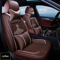 Ice silk car seat covers for geely atlas emgrand ec7 x7 gc6 mk ck auto accessories 3D car seat protector