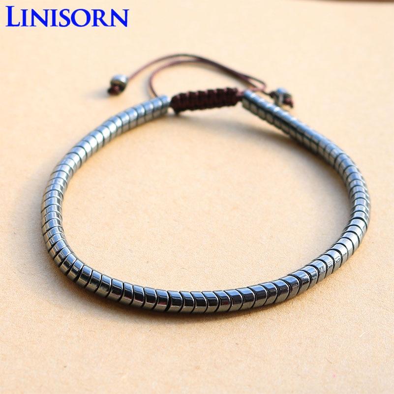 d42923bdc58d0 US $6.22 |Wholesale Handmade Modern Snake Chain Adjustable Woven Bracelet  Healing Stone Men's Personalized Wrap Bracelet Gift idea-in Wrap Bracelets  ...