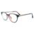 Tr90 das mulheres anti blue ray óculos de computador quadro de spectalce quadro e titanium material para jogos óculos snf556