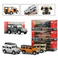Boxed five-inch alloy car model SUV Simulation Land Rover guards off-road vehicles Pull Back Open the door kids toys