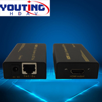 YOUTINGHDAV YT HDTXRX60M CAT6 HDMI Extender 60M 1080P Transmitter Twisted pair extension Instead of HDMI cable 196ft