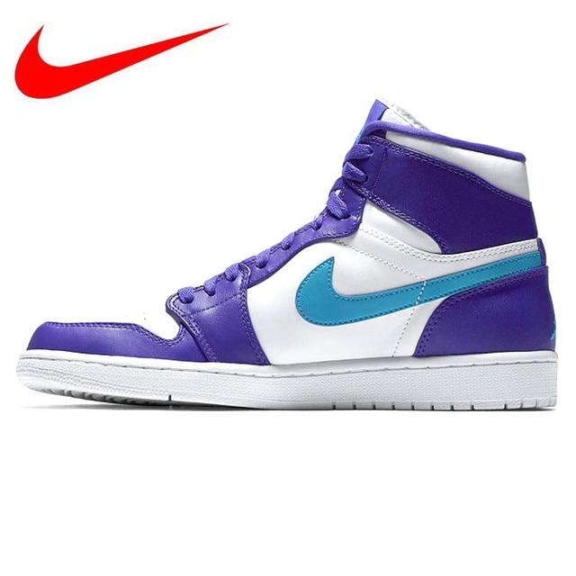 detailed look 75fcf 524a2 Original Nike Air Jordan 1 High Retro AJ1 Hornet Feng Shui Women s Basketball  Shoes, Outdoor Shock-absorbing Sneakers 332550 442