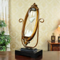 430MM 60Min Sand Glass Timer Clock Hourglass With Swivel Metal Study Bedroom Office Desk Decor