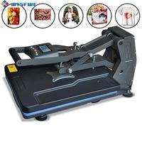 Wtsfwf ST 4050A 40*50CM Hydraulic Heat Press Printer Machine 2D Thermal Transfer Printer for Tshirts Cases Pads Printing
