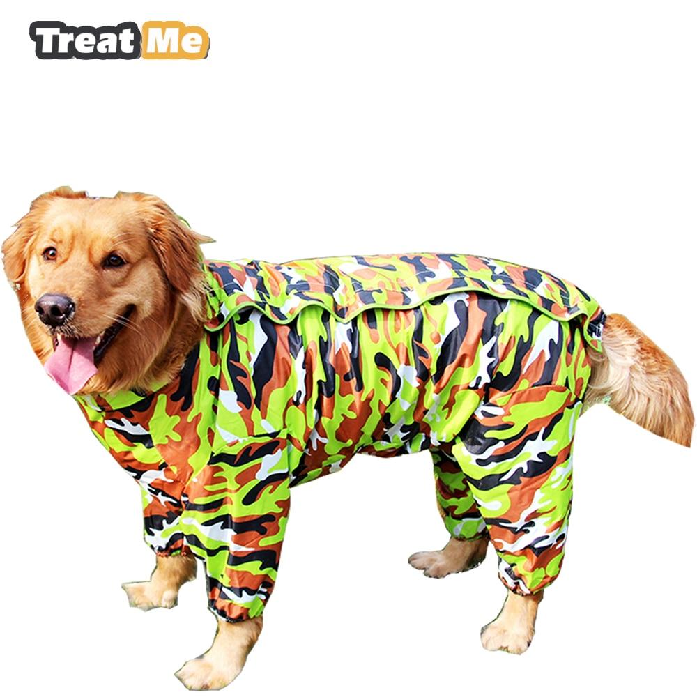 Detachable Fastener Outdoor Hoodie Pet Poodle Raincoat Rainwear Waterproof Jacket Clothes Hooded Jumpsuit Raincoat XPCYE-XS-051