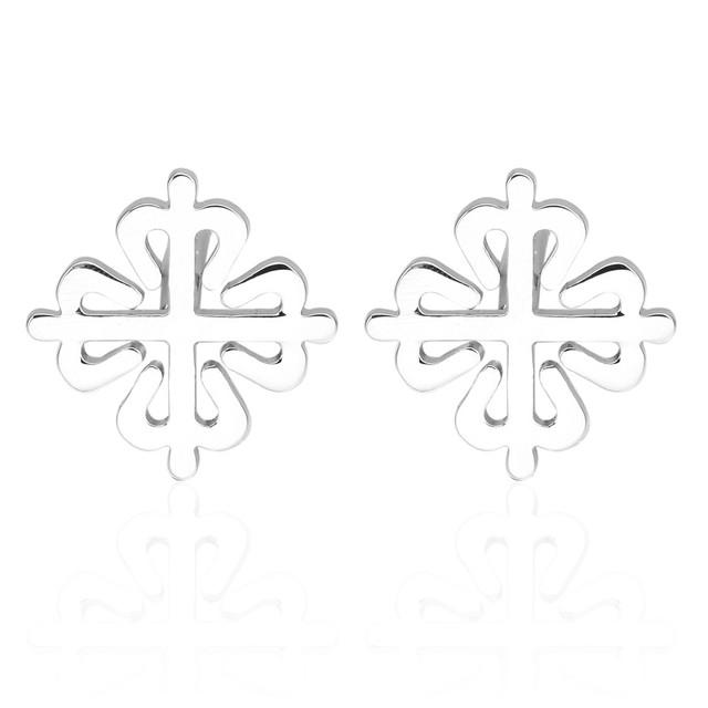 High Vintage Wave Pattern Cuff Link Retro Exquisite Men's Cufflinks Round Sleeve Nail Style Jewelry