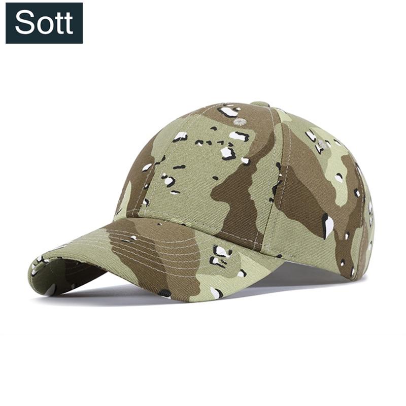 SOTT  nueva Fashiom Hip Hop camuflaje hueso gorra de béisbol hombres  mujeres novedad impresión 82519cc0743