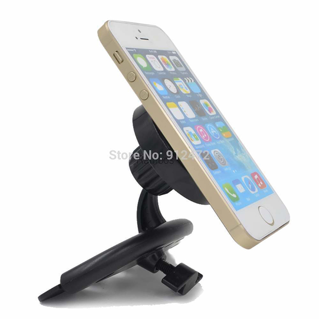 Smart Phone GPS PDA Tablet PC CD Slot Mount Holder Car Universal Stand Holder for iPad Air 2 for Note 4 for Tablet S z35