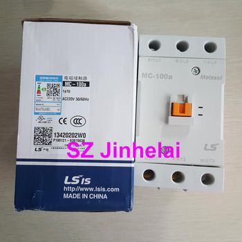 LS MC-100a Authentic original Electromagnetic contactor 1a1b (Can replace GMC-100)  AC220V/AC110V/AC380V