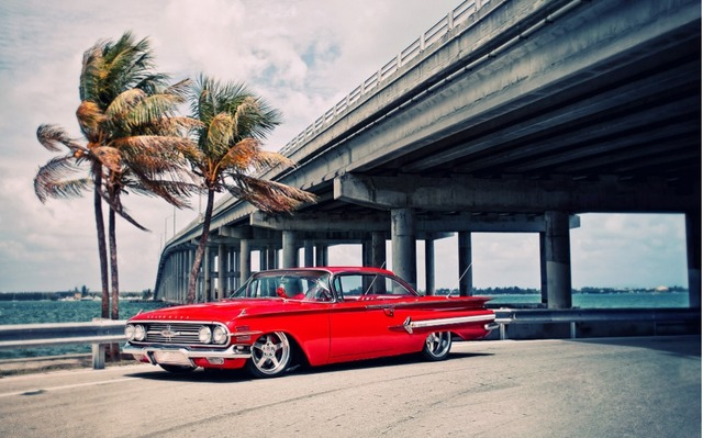CHEVROLET RETRO CAR Poster Home Decoration Wall Poster Print Stylish ...