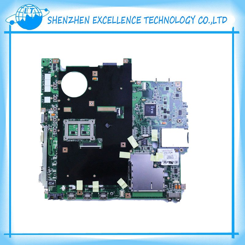 X50RL F5RL Integrated REV 2.0 laptop motherboard For Asus fully tested Top quality free shipping asus g31 motherboard g31tlm g31tlm2 fully integrated g31tm v1 0 lot