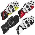 Free Shipping Alpine Motorcycle GP-Tech Gloves Motogp Racing Gear Motocross Leather GP Tech glove Motorbike Driving Guantes Star