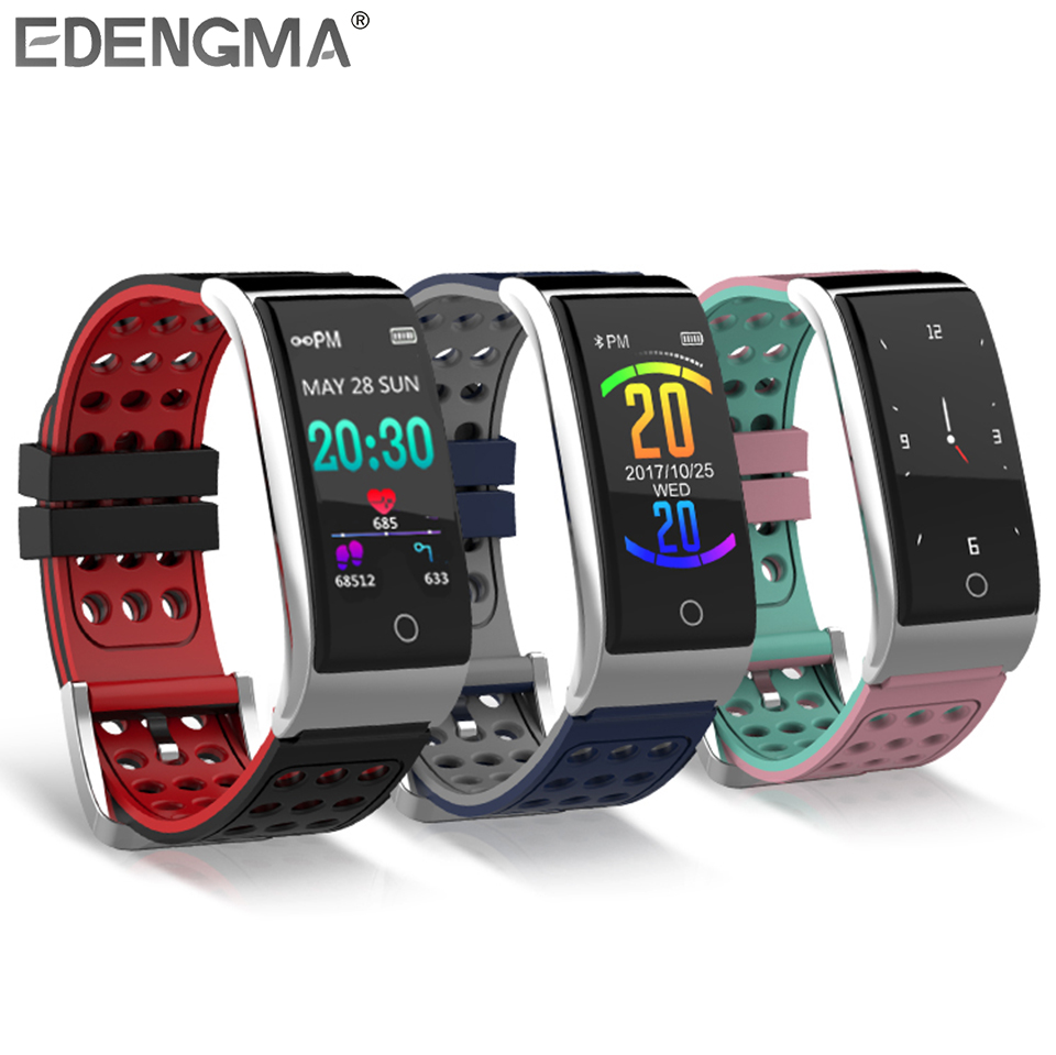 E08 fitness bracelet Heart rate blood pressure measurement pulsometer ecg watch with Sleep monitor Pedometer activity