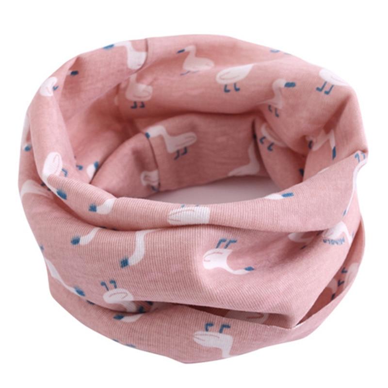 2019 Spring Autumn Children Cartoon Scarf Winter Baby Cotton Warm Scarf Boy Girl O Ring Scarf Kids Neck Collar Child Neckerchief