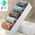Bi Zhu 5 piezas de calcetines de vestir para hombre vestido de calcetines de bambú calcetines Largos de algodón caja de la marca