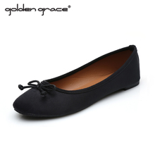 Spring/Autumn New Arrival Fashion 2017 Solid Style Women Single sandals Flat Heel  Ballet Work Flats Shoes Woman lady