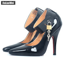 jialuowei BDSM Sexy Fetish High-Heel Pumps Lock And Key 5&qu