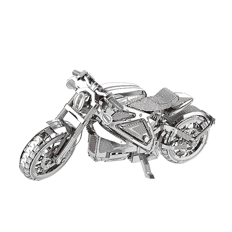 Avenger Motorcycle nanyuan models 3D DIY laser cutting car model educational diy toys Jigsaw Puzzle DIY Metal fun for kids gift